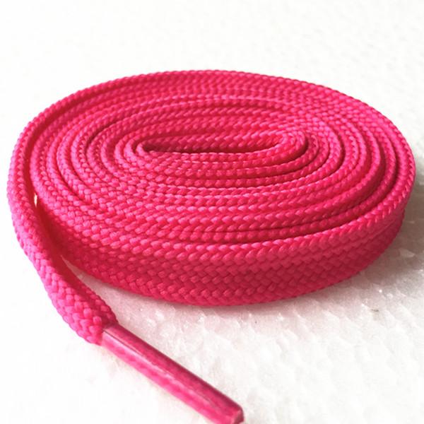 Flade snørebånd, Pink