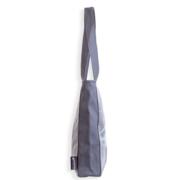 grå side taske