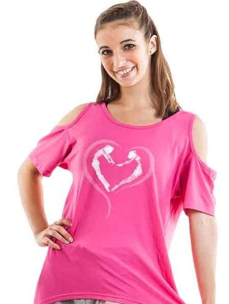 open shoulder, skazz, Pink