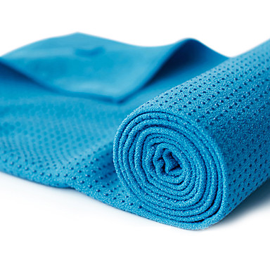 Blå håndklæde