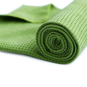 Grøn håndklæde
